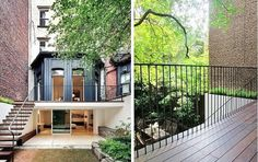 One of our all-time favorite remodels in Manhattan's Chelsea neighborhood is architect Julian King's thoughtful update of a Victorian townhouse, which uncovered character-filled historical details and created a sunny back garden.