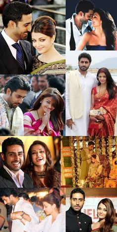 Different Shades Aishwarya Rai and Abhishek Bachchan