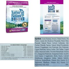Diets Dry Dog FoodSweet Potato &Amp; Venison Formula 26 Pound Bag No Artificial #NaturalBalance,#dog,#food,#cat,#energy,#strong,#health,#dry,#pet,#protein,#natural