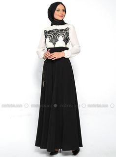Evening Dress - Black - Puane
