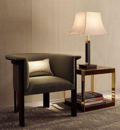 Sofa Furniture, Luxury Furniture, Furniture Design, Armani Home, Armani Casa, Single Sofa, Semarang, Distressed Furniture, Giorgio Armani