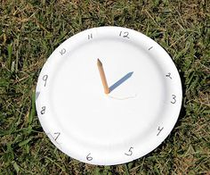 We Made That: Paper Plate Sundial