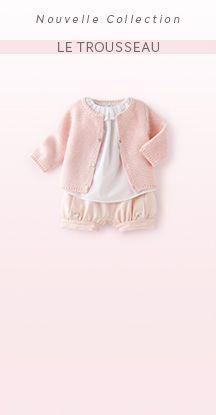 Naissance 0-12 mois - Les Thèmes Fille - Vêtement Bébé - Jacadi Paris