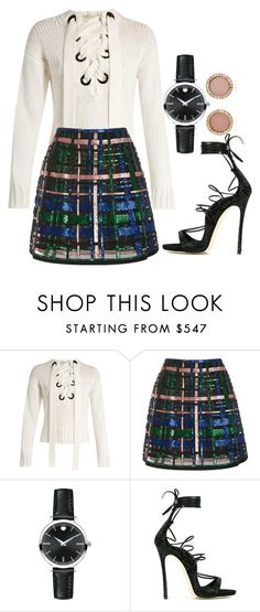"""Untitled #749"" by twisted-magic ❤ liked on Polyvore featuring Joseph, Elie Saab, Movado, Dsquared2 and Michael Kors"