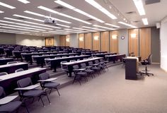 Dallas Theological Seminary classroom.