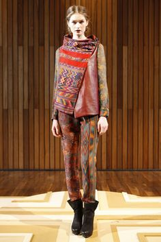 From Christian Cota RTW Fall 2012. I need to learn how to make a jacket like this.