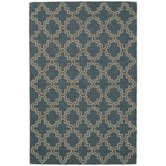 Our best-selling, vintage-style wool area rug stands at attention in an Old World tile-inspired pattern.