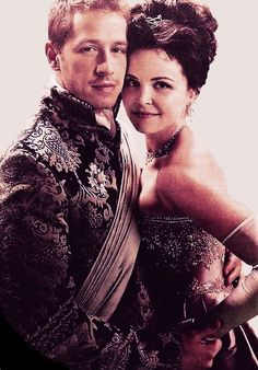 Prince James and Snow White, Once Upon a Time.