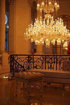 Cristal Room Baccarat - Paris, France (crystal room restaurant located in Guy Martin Place in Paris, France)