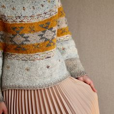 Ravelry: Bundles: Junko Okamoto by thisWolf Fair Isle Knitting Patterns, Knitting Stitches, Knit Patterns, Free Knitting, Ravelry, Knitting For Beginners, Vintage Sweaters, Textiles, Pulls