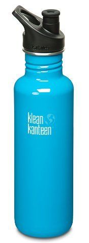 Klean Kanteen 27 oz Stainless Steel Water Bottle with Sport Cap 3.0 - Channel Island by klean kanteen. $19.95. The 27 oz Klean Kanteen Classic is perfect for your on-the-go life. Whether you're trying to juggle a full day of classes or work, the kids' extracurricular schedules, or a trip to dog park between your workout and happy hour, just one or two fill-ups will help you stay hydrated and happy all day. The bottle is made from high quality, 18/8, food-grade stainless stee...
