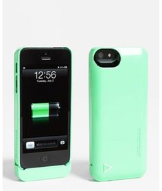 Charger case teal