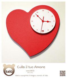 Per San Valentino talù propone il suo orologio Amore in versione rosso http://talu.it/