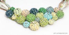 Layered beads