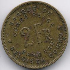 Belgian Congo 2 Francs 1946 op eBid België