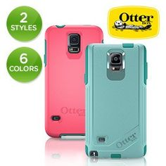 OtterBox Commuter or Symmetry Series Case for Samsung Galaxy Note 3 & 4 or S4 & S5 - Assorted Colors   nomorerack.com  $12