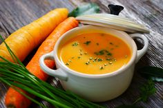 Soup Recipes For Toddlers Honey Carrot Soup