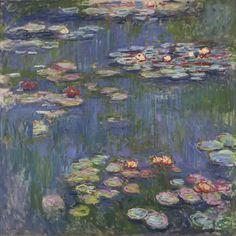 Water Lilies Poster - Claude Monet