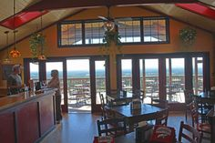 Bluemont Vineyard's stunning view goes well with the great wine and cheese.