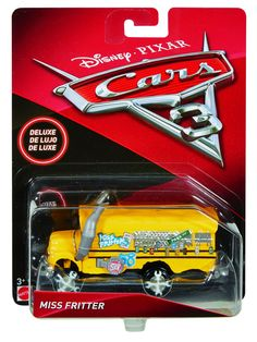 Disney/Pixar Cars 3 Deluxe Miss Fritter DieCast Vehicle *** For more information, visit image link. (This is an affiliate link) Disney Pixar Cars, Disney Cars Characters, Disney Cars Diecast, Chevrolet Corvette, Corvette Cabrio, Ferrari 348, Porsche 356, Pool Toys And Floats, Carl Benz