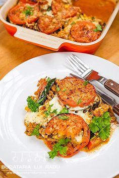 Lasagna fara paste reteta culinara Lasagna, Paste, Tandoori Chicken, Food Porn, Ethnic Recipes, Pork, Lasagne, Treats