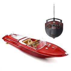 HobbyBuying online store supply Flytec Brushed RC Racing Boat RTR – Red product to sale at wholsale price. Speed Boats, Power Boats, Quad Bike, Goods And Service Tax, Tall Ships, Boat Building, Radio Control, Rc Cars, Republic Of The Congo