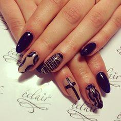 Made by Marta <3 #eclair #eclairnail #nails #nailart #nailporn #nailswag