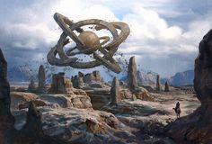 Floating Orb, Jinho Bae on ArtStation at https://www.artstation.com/artwork/LrO00
