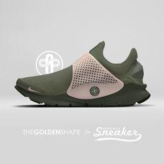 292a1408a2d Stone Island x Nike Sock Dart Sequoia