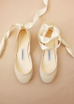 7 Best The Bridal Ballet Flats Wedding Shoes With Satin Ribbons