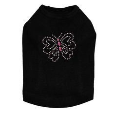 How cute!! Check it out here! #Itsadogthing http://www.barklabel.com/products/pink-rhinestud-butterfly-dog-tank?utm_campaign=social_autopilot&utm_source=pin&utm_medium=pin www.barklabel.com