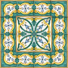 Balestrate fascia - Rivestimenti di Caltagirone