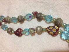 Ok, this one almost didn't make it to the Etsy shop, either lol. Iridescent czech bead double strand by HuncaMuncasGoodKarma