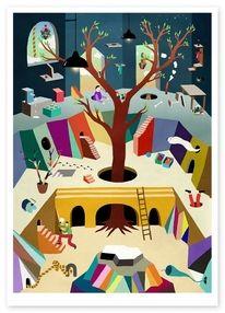 colours, illustration