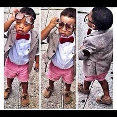 too trendy for his own good :  Kids fashion, style