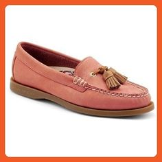 New Sperry Women's Eden Tassel Loafer Washed Red 8.5 - Loafers and slip ons for women (*Amazon Partner-Link)
