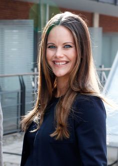 Princess Sofia of Sweden arrives to the Granslosa Moten's Sustainability and future seminar, 'A Sustainable Tomorrow' on August 2, 2017 in Bastad, Sweden.