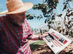<p>Foto de Fidel Castro publicada en el sitio de Cubadebatem el 22 de octubre de 2012 en La Habana </p>