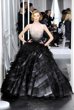Christian Dior Spring 2012 Couture Fashion Show - Karlie Kloss