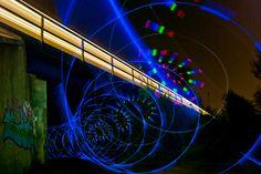 """Lights crossing"" - one exposure, no layerwork postproduction"