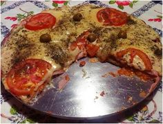 Pizza de pão de formâ   Massas > Receitas de Pizza   Receitas Gshow