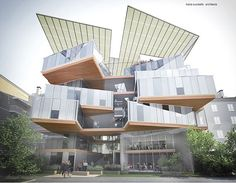 Eco Architecture: MC Architects design solar-powered residential building