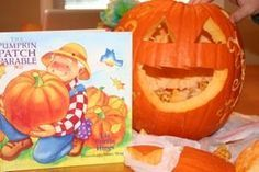 Bring the light of Christ back to October & Halloween with this Christian object lesson & pumpkin prayer. Use a pumpkin to illustrate how through Christ we can get a new face and let His light shine! Preschool Bible Lessons, Bible Object Lessons, Fall Preschool, Bible Lessons For Kids, Bible For Kids, Bible Activities, Preschool Boards, Rainbow Activities, Preschool Literacy