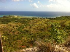 View from Asan Bay Overlook Hiking Trail