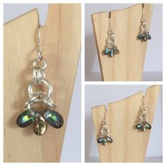 A personal favourite from my Etsy shop https://www.etsy.com/uk/listing/387107284/petals-earrings-chainmaille-jewellery