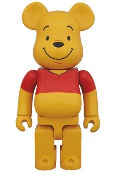 Medicom Be@rbrick 2014 Disney 400/% Winnie The Pooh Bearbrick 1pc