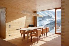 Leis Ferienhäuser von Peter Zumthor: Türmlihus in Leis, Vals, Bündnerland