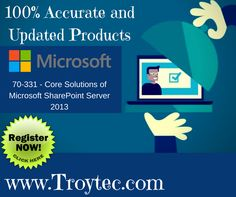 Get 20% off on all study materail #Core Solutions of #Microsoft #SharePoint Server 2013 Exam #Code- 70_331 visit@:http://bit.ly/2wZDG1P