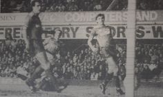 10 April 1989 Kevin Sheedy scores Everton's second against Charlton