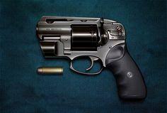 Customized short barrel 454 magnum.